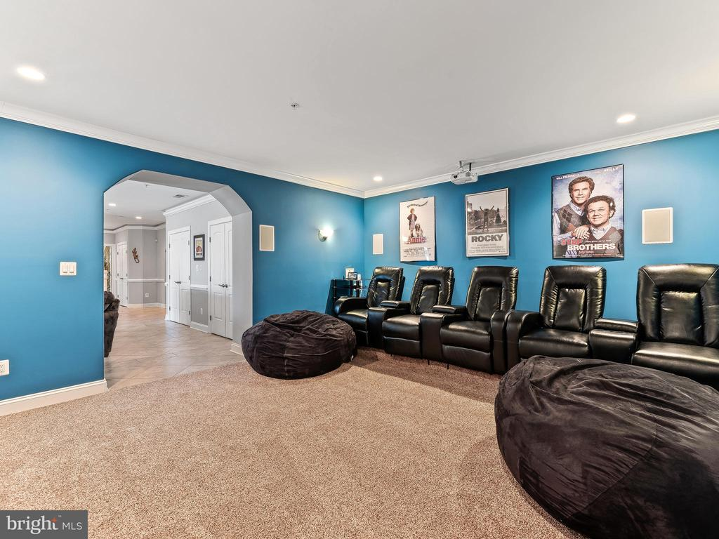 Theater Room - 16600 EMORY LN, ROCKVILLE