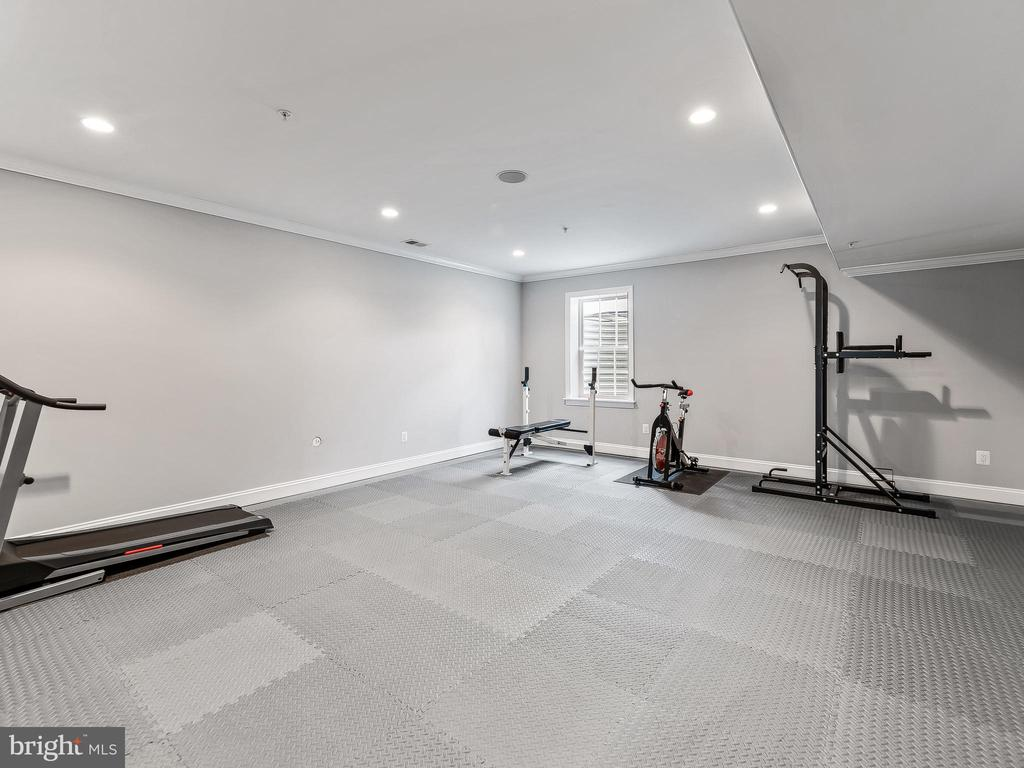 Exercise Room/6th Bedroom - 16600 EMORY LN, ROCKVILLE