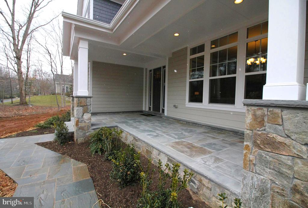 Stunning Stone Porch - 3005 WEBER PL, OAKTON