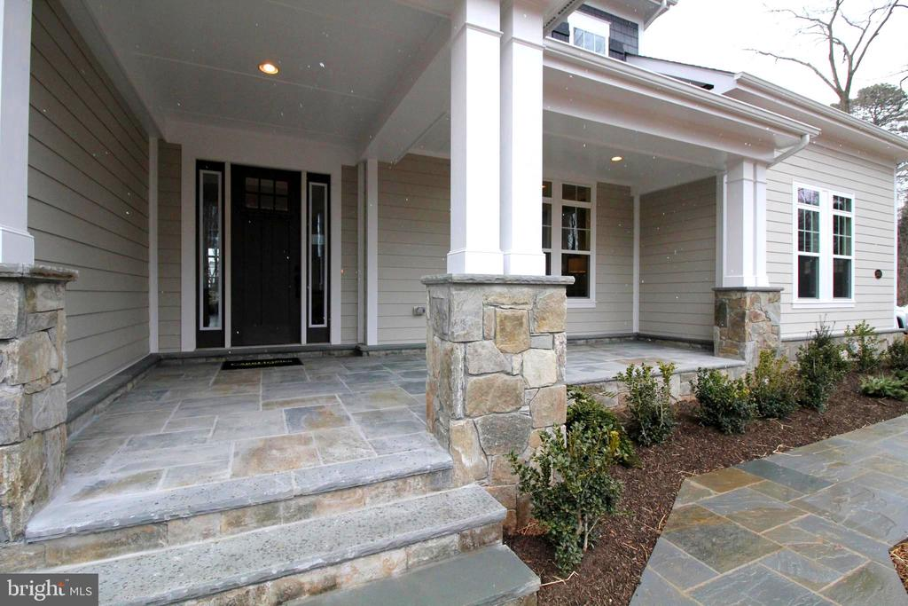 Lovely Front Entrance - 3005 WEBER PL, OAKTON