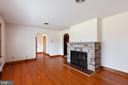 Liv. Rm - original Hardwood floors - 11723 ROBINWOOD DR, HAGERSTOWN