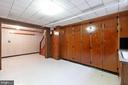 Built in storage cabinets in basement - 11723 ROBINWOOD DR, HAGERSTOWN