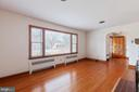 Large picture window in Living rm. - 11723 ROBINWOOD DR, HAGERSTOWN