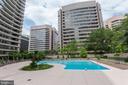Outdoor Pool - 1300 CRYSTAL DR #PH3S, ARLINGTON