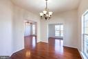 Dining Room - so many windows - 18218 ROCKLAND DR, HAGERSTOWN