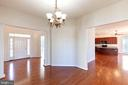 Open concept w/ big rooms. - 18218 ROCKLAND DR, HAGERSTOWN