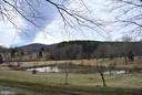 Pond view from home - 3494 SLATE MILLS RD, SPERRYVILLE