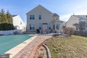 Beautiful brick hardscaping - 18218 ROCKLAND DR, HAGERSTOWN