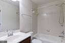 Hall bathroom - 18218 ROCKLAND DR, HAGERSTOWN