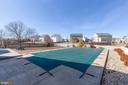 Pool is covered for the winter - 18218 ROCKLAND DR, HAGERSTOWN