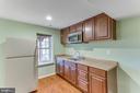 Kitchenette in lower level - 4800 JENNICHELLE CT, FAIRFAX
