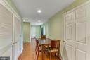 Freshly painted, nice flooring - 4800 JENNICHELLE CT, FAIRFAX