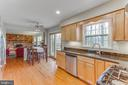 Large window over the sink, really nice view - 4800 JENNICHELLE CT, FAIRFAX