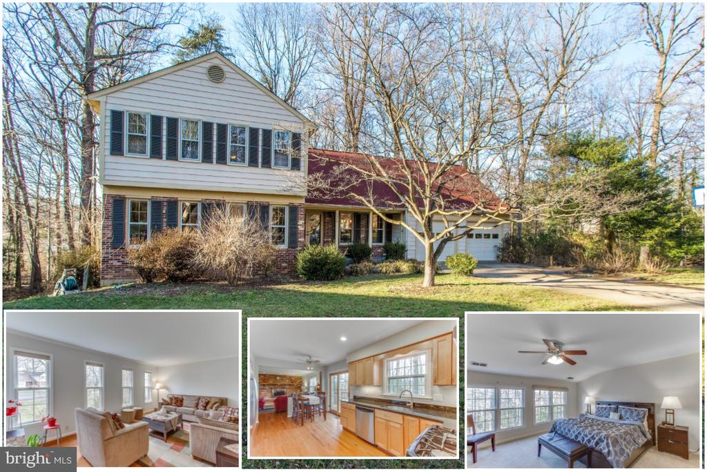 6 Bedroom home with in law suite set on cul de sac - 4800 JENNICHELLE CT, FAIRFAX