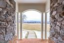 Mountain Views from Beautiful Portico Porch - 21562 GREENGARDEN RD, UPPERVILLE