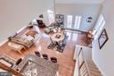 Loft View Overlooking Breakfast & Great Room - 21562 GREENGARDEN RD, UPPERVILLE