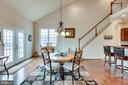 Breakfast Room - 21562 GREENGARDEN RD, UPPERVILLE