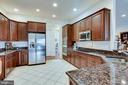 Kitchen with Beautiful Granite & Lots of Cabinets - 21562 GREENGARDEN RD, UPPERVILLE