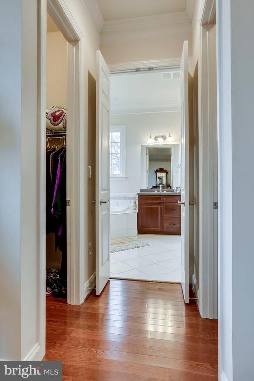 Master Bedroom Walk-in Closet & Master Bath - 21562 GREENGARDEN RD, UPPERVILLE