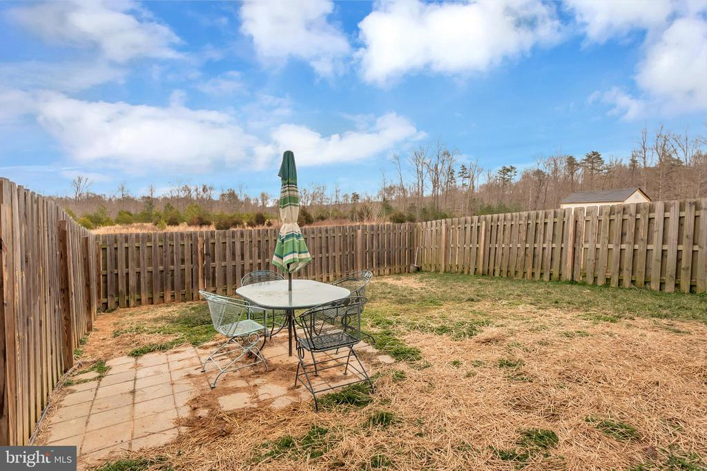 Rear fenced in yard - 2345 SILVER FOX WAY, LOCUST GROVE