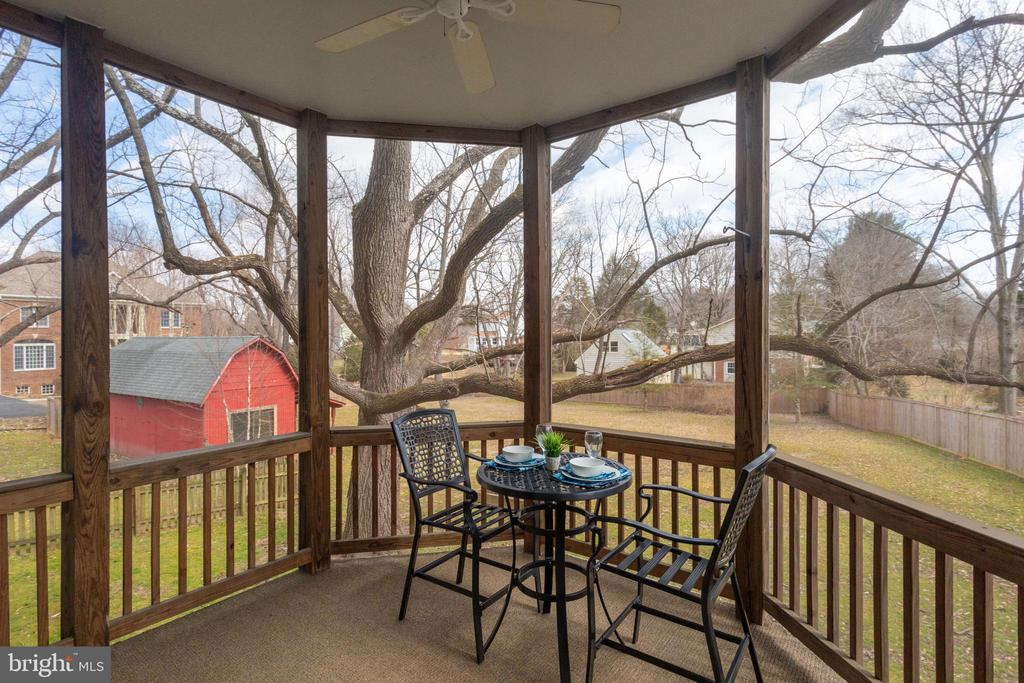 Check out that view! - 1847 HUNTER MILL RD, VIENNA