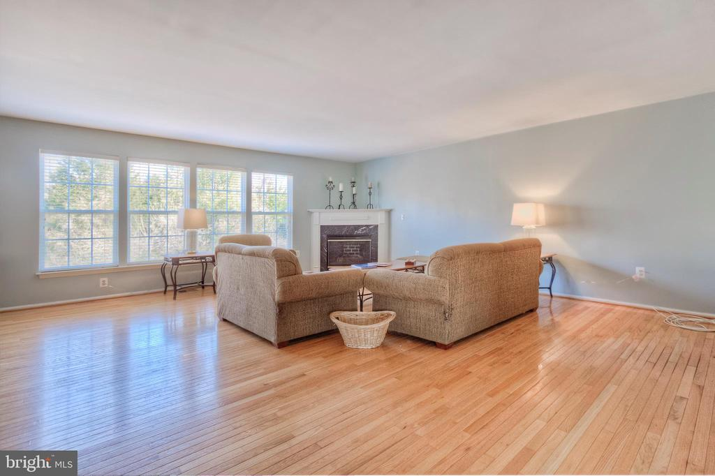 Large Family Room with Gas Fireplace - 38 RIPLEY RD, STAFFORD