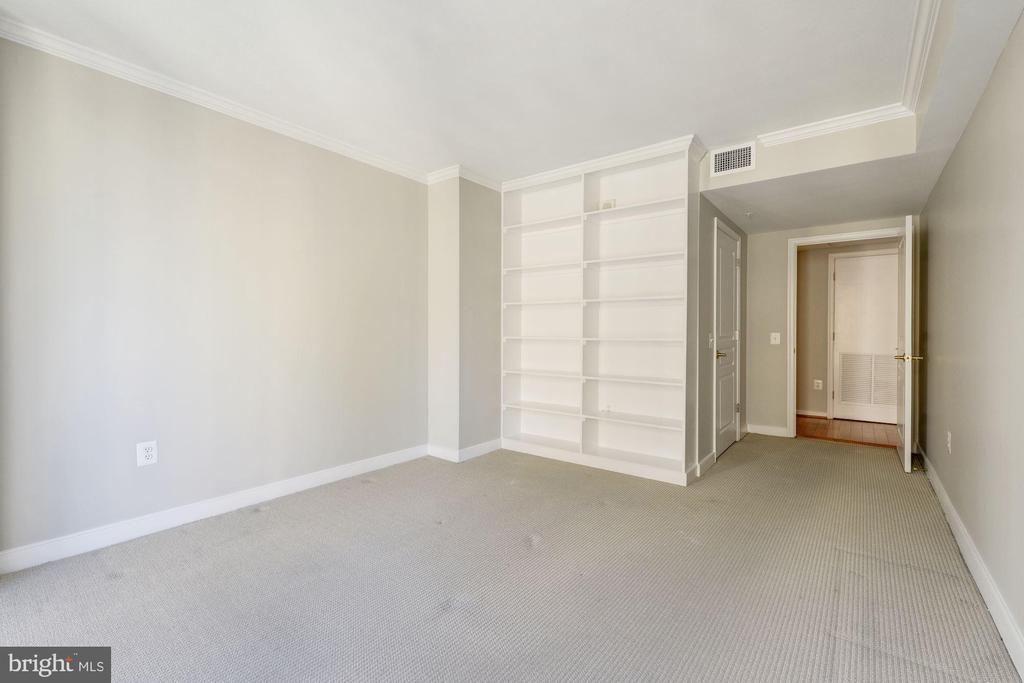 Custom built-ins in substantial bedroom. - 616 E ST NW #822, WASHINGTON