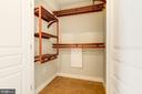 Large foyer closet with custom built-ins. - 616 E ST NW #822, WASHINGTON