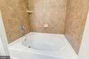 Oversized tub and shower. - 616 E ST NW #822, WASHINGTON