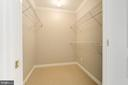 Office sized walk-in closet - 616 E ST NW #822, WASHINGTON