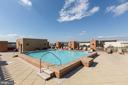 Roof deck pool. - 616 E ST NW #822, WASHINGTON