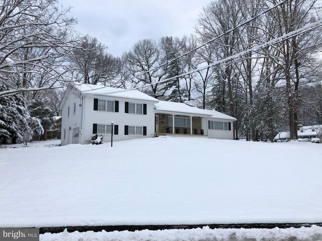 Winter photo of home - 8938 COLESBURY PL, FAIRFAX