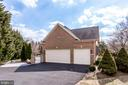 3-car attached side-load garage - 11580 CEDAR CHASE RD, HERNDON