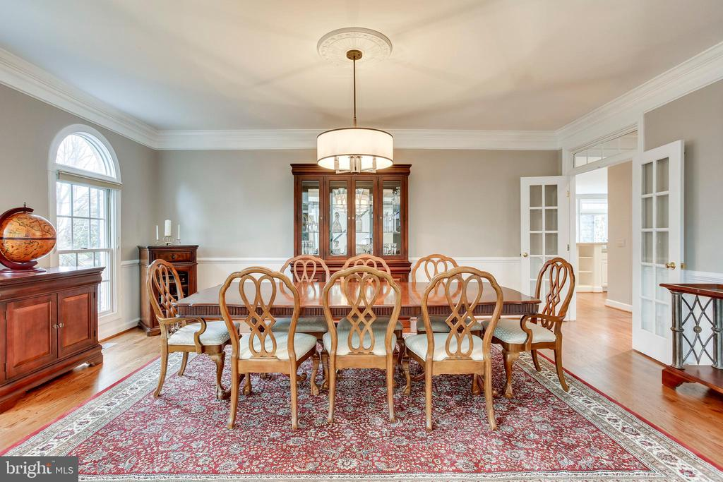 Dining room - 11580 CEDAR CHASE RD, HERNDON