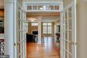French doors - 11580 CEDAR CHASE RD, HERNDON