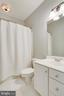 Full bath in Bedroom 2 - 11580 CEDAR CHASE RD, HERNDON