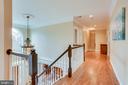 Upper level hallway - 11580 CEDAR CHASE RD, HERNDON