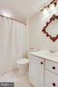 Full Bath in Bedroom 3 - 11580 CEDAR CHASE RD, HERNDON