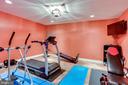 Exercise room - 11580 CEDAR CHASE RD, HERNDON