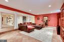 Lower Level Family Room - 11580 CEDAR CHASE RD, HERNDON
