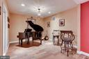 Lower Level music area - 11580 CEDAR CHASE RD, HERNDON