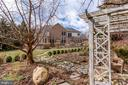 Backyard from Pergola - 11580 CEDAR CHASE RD, HERNDON
