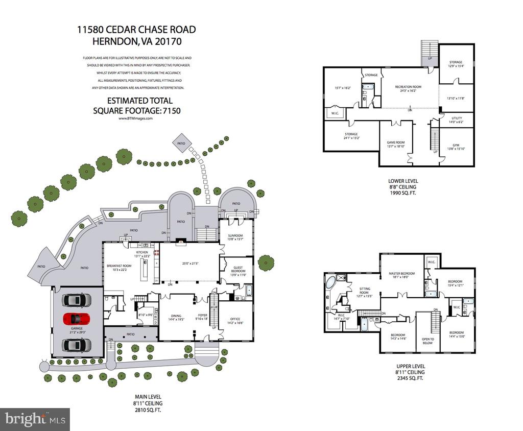 11580 Cedar Chase Property Floor Plan - 11580 CEDAR CHASE RD, HERNDON