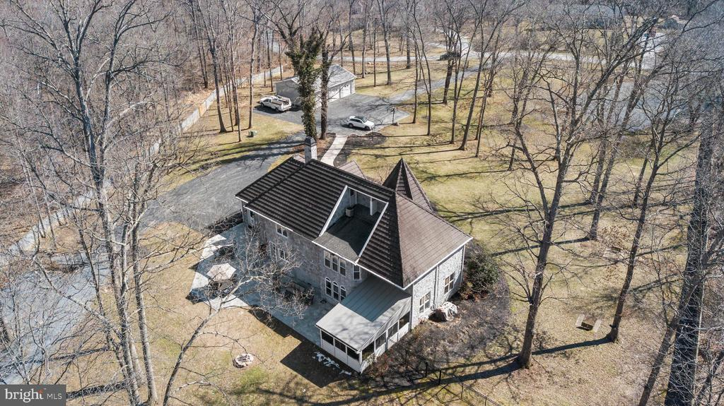 ARIEL VIEW REAR TO STREET - 13450 REED RD, THURMONT