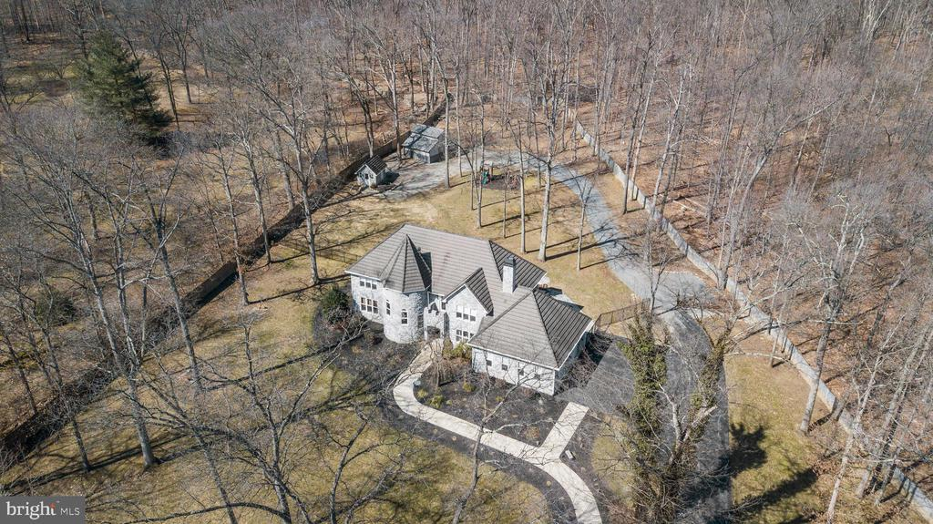 ARIEL VIEW FRONT - 13450 REED RD, THURMONT