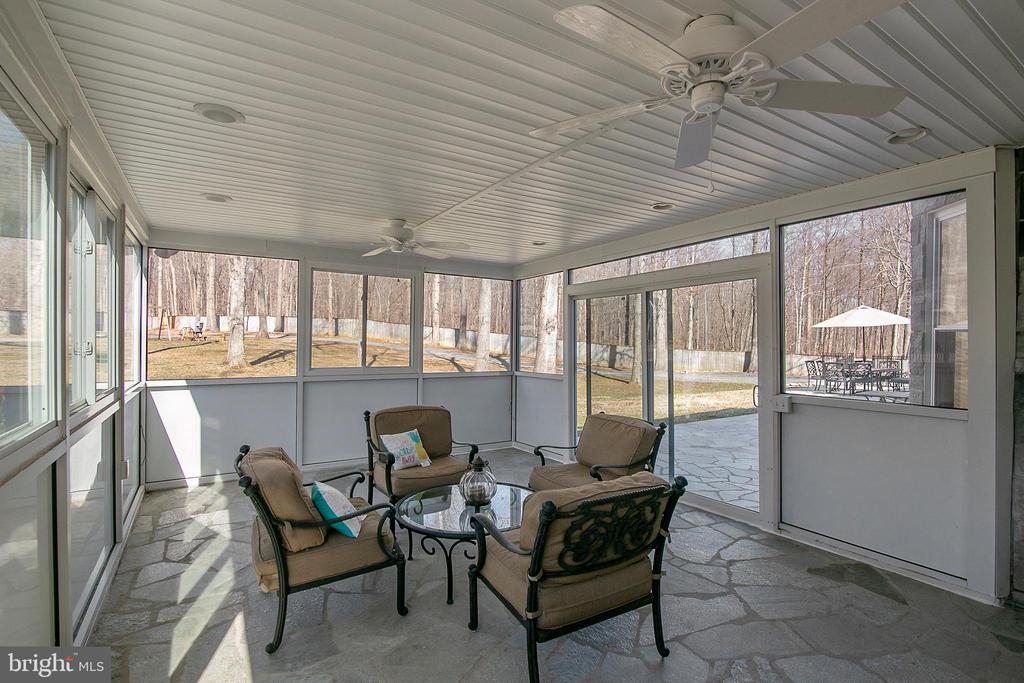 SUN ROOM TO TERRACE - 13450 REED RD, THURMONT