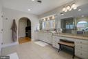 MASTER SPA BATH WITH DOUBLE SINKS - 13450 REED RD, THURMONT