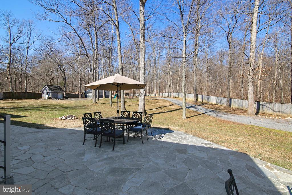 VIEW FROM TERRACE - 13450 REED RD, THURMONT