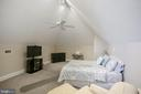 3RD FLOOR BEDROOM 4 WITH VAULTED CEILING - 13450 REED RD, THURMONT