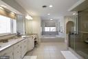 MASTER LARGE WALK-IN SHOWER - 13450 REED RD, THURMONT